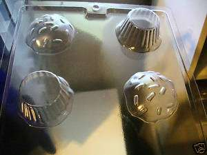 PART LARGE. CUPCAKE CHOCOLATE CANDY SOAP MOLD MOLDS