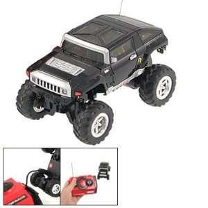 Gino Children White Headlight Jeep Toy Radio Remote Control Racing Car