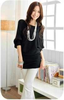 Womens Fashion Korea Off Shoulder Tops Shirts HOT 1984#