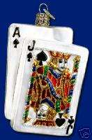 BlackJack Casino Theme Ornament ~ Old World Christmas