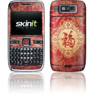 Red Chinese character Blessing skin for Nokia E72