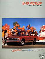 1989 Chevrolet S 10 pickup truck sales teaser