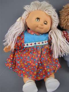 Vintage Lot Mini Soft Body Cabbage Patch Kids Dolls 9