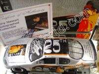 Tony Stewart 25 Years of Hard Nose Racing Autographed / Signed 1/24