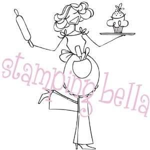 Stamping Bella Unmounted Rubber Stamp Baykahbella Arts