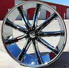 WHEELS AND TIRES DW29 CHROME FORD F150 NAVIGATOR EXPEDITION LINCOLN LT