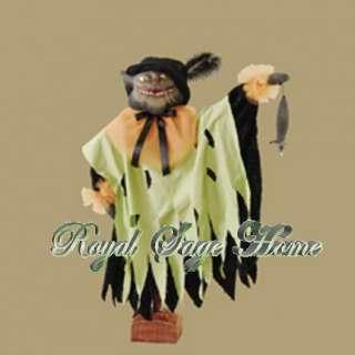 66331 Joe Spencer 29 Thom Black Cat Halloween Doll Figure