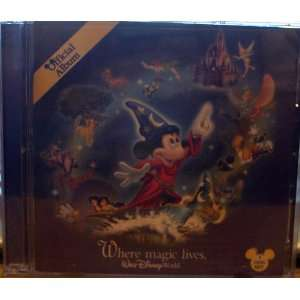 World Official 2006 Album Where Magic Lives Walt Disney World
