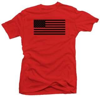 USA Flag Military Army Ranger Cool New T shirt