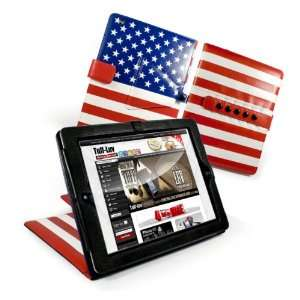 Leather Case Cover Stand for Apple iPad 2
