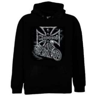 Skeleton Bike Chopper Motorcycle Hoodie Sweatshirt Clothing