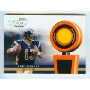 Kurt Warner 2002 Playoff Football Piece of the Game Worn