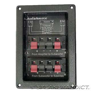 AudioSource 120Hz 2 way 12dB stereo subwoofer crossover   New   Sold