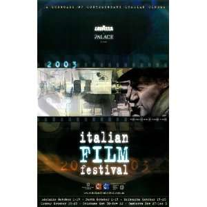 Italian Film Festival Movie Poster (11 x 17 Inches   28cm