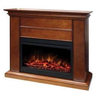 Muskoka Alpine 62 In Wide Electric Fireplace Tv Stand Burnished