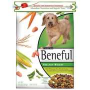 Beneful Healthy Weight Quick Zip Dog Food, 15.5 lb