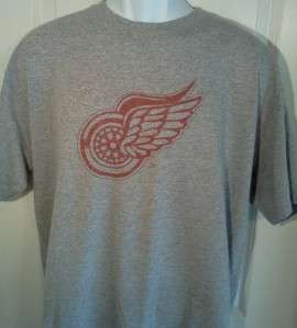 Detroit RED WINGS 1930s Hockey Throwback T Shirt XXL