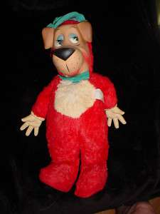 VTG 1959 HUCKLEBERRY HOUND HAND PUPPY DOG PLUSH STUFFED