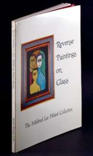 PAINTING ON GLASS  MILDRED LEE WARD COLLECTION American Foreign