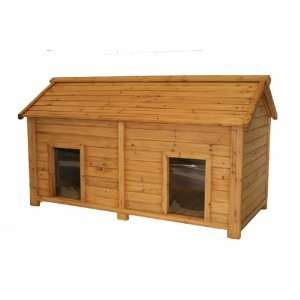 Medium Duplex Cedar Insulated Dog House:  Kitchen & Dining