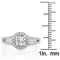 14k White Gold 1ct TDW Round Diamond Wedding Ring (G H, I1 I2