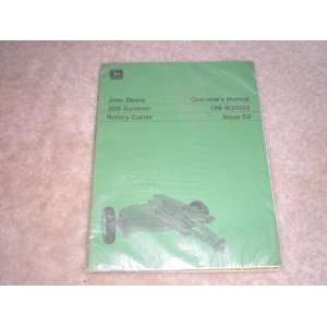 Manual 205 Gyramor Rotary Cutter: john deere:  Books