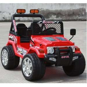 Ride on Jeep with 2 motors & 2 battery on Radio Remote