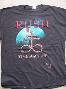 MACHINE WORLD TOUR BLACK STORM SHIRT 2010 2011 L LG GEDDY ALEX