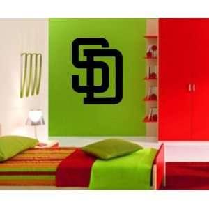 San Diego Padres MLB Vinyl Decal Sticker / 28 x 21.3
