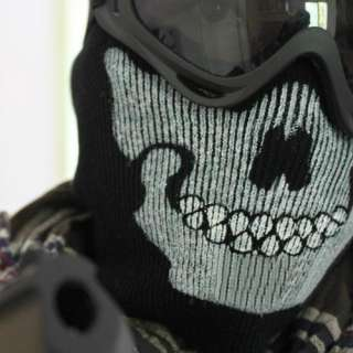 Call Of Duty 6 Modern Warfare 2 Ghost Face Skull Mask Good Quality