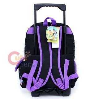 Disney Tinkerbell Fairies School Roller Backpack Lunch Bag Butterfly 4