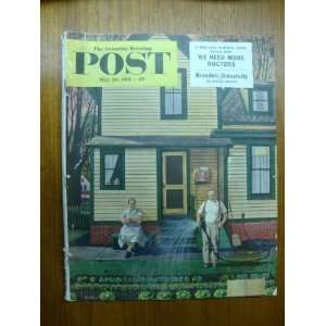 The Saturday Evening Post Magazine   May 26, 1951 Curtis Books
