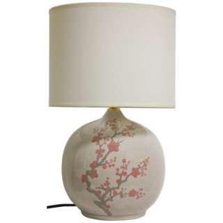 20 Inch Cherry Blossom Vase Lamp Decor