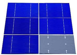 grade 3x6 polycrystalline solar cells for DIY solar panel