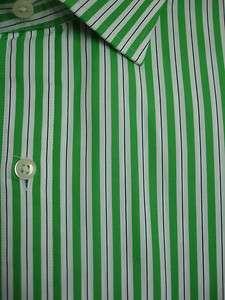 Polo Ralph Lauren DRESS SHIRT REGENT Spread Green NWT