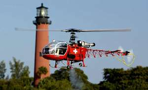 SA 315B Lama 30 scale 30size Hirobo Lama Helicopter KIT