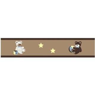 Chocolate Teddy Bear Wall Hanging Accessories by JoJo Designs Baby