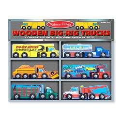 Melissa & Doug Wooden Big rig Truck Toys  Overstock