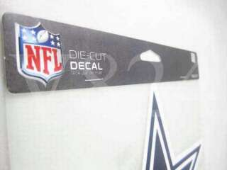 NFL Dallas COWBOYS 8x8 Die Cut Decal Sticker