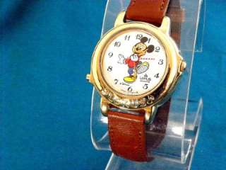 VINTAGE LORUS by Seiko MUSICAL MICKEY MOUSE THE BAND LEADER WATCH, NEW