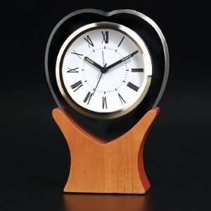 My Ticking Heart Glass Clock