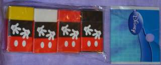Disney Mickey Mous 4pk Eraser Party Favor/School Supply