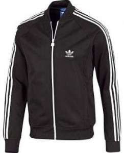 Mens Adidas Originals SuperStar Sport Track Top Jacket S M L XL Black