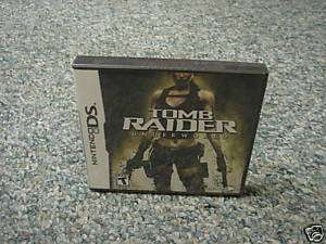 Tomb Raider Underworld (Nintendo DS) DSI new 788687400527