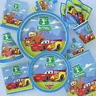 DISNEY CARS 1ST Birthday Party HUGE LOT for 16 Cups,Plates,Napkins