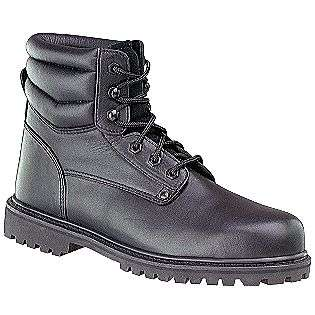 Price Mens 6in. Steel Toe Boot   Black  Shoes Mens Work & Safety