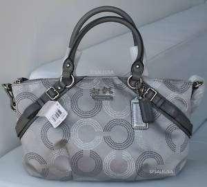 COACH Madison Dot Op Art SOPHIA Bag Purse 15935 NWT