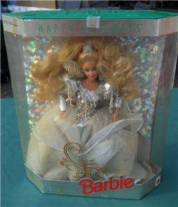 SPECIAL EDITION 1992 HAPPY HOLIDAY BARBIE DOLL MATTEL NRFB CHRISTMAS X