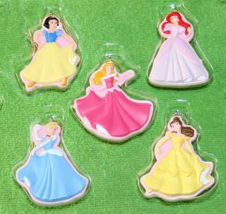 PC Hallmark Disney Princess Christmas Ornament Set Great Gift