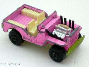 Jeep Hot Rod, Matchbox, #2 F, Superfast, 1971